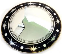 1950's/60's Starburst design Convex Mirror